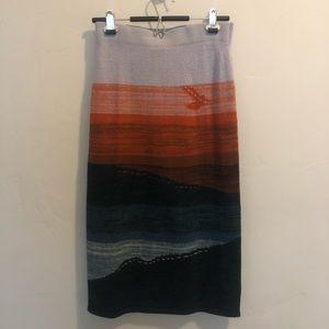 Anthropologie Akemi + Kin Wool Skirt